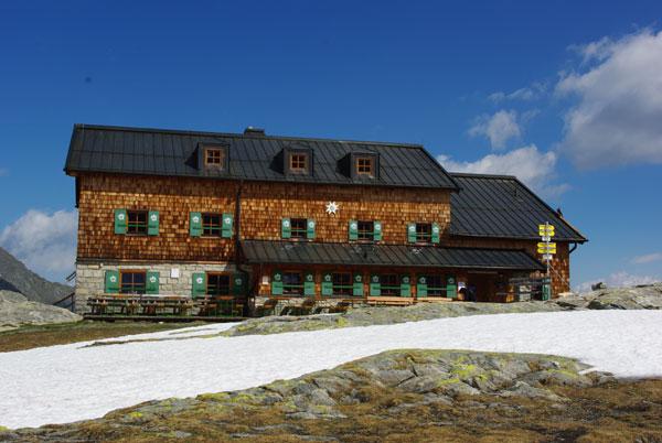 Sonnenterrasse Zittauer Hütte
