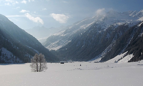 Wintertime in the Wildgerlos Valley